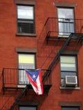 在大厦的古巴标志 免版税图库摄影
