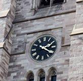 在大厦的编钟 免版税库存照片