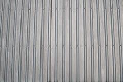 在大厦附近的锌屋顶 免版税库存图片