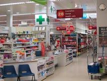 在大型商场的药房 库存照片