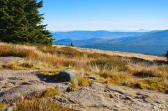在大山的风景 免版税库存图片