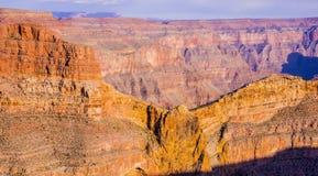 在大峡谷亚利桑那的老鹰点 免版税图库摄影