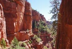 在大峡谷国家公园,亚利桑那里面的亲密的风景看法 库存照片