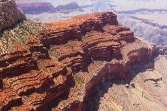 在大峡谷的形状 免版税库存图片