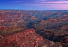 在大峡谷的日出 库存照片