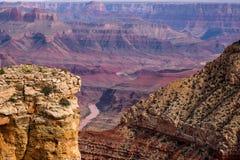 在大峡谷的日出 库存图片