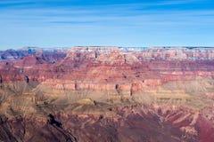 在大峡谷的白天 免版税库存图片