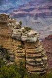 在大峡谷的风景 图库摄影