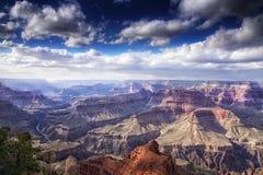 在大峡谷,亚利桑那的风景 库存照片