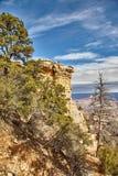 在大峡谷,亚利桑那美国的早晨轻的日出 图库摄影