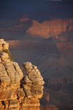 在大峡谷,亚利桑那,美国的日出 库存图片