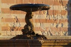 喷泉在Assisi 免版税库存照片