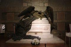 在大教堂的亚诺什Biboros坟墓在埃斯泰尔戈姆Åšw Wojciech 库存照片