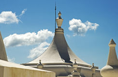 在大教堂的凸面圆屋顶 免版税库存图片