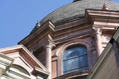 在大教堂的铜圆顶 免版税库存照片
