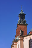 在大教堂的雕象 免版税图库摄影