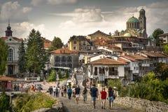 在大特尔诺沃,保加利亚发现最佳观光 免版税库存照片