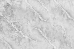 在大理石石地板纹理背景的特写镜头表面抽象大理石样式在黑白口气 免版税库存照片