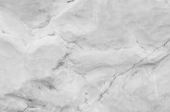 在大理石石头的特写镜头表面抽象大理石样式为在黑白口气的庭院纹理背景中装饰 免版税库存图片