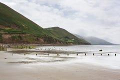 在大西洋的海滩 库存图片