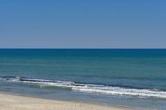 在大西洋的水晶大海 免版税库存图片