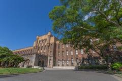 在大阪城堡的一个大厦 库存图片