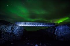 在大陆的桥梁 免版税库存图片