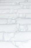 在雪之下的台阶 免版税库存照片