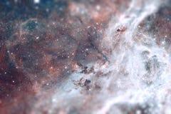 在大麦哲伦星系星系的地区30 Doradus谎言 免版税库存图片