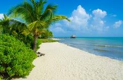 在天堂海滩的假期 库存照片