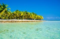 在天堂海滩的假期 免版税库存图片