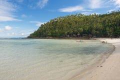 在天堂,泰国,酸值Phangan靠岸 库存图片