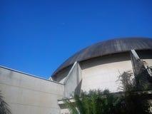 在天文馆的月亮 免版税库存图片