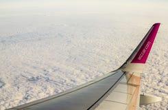 在天空中 库存图片