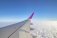在天空中 免版税库存图片