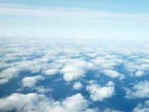 在天空之上 免版税图库摄影