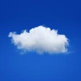 在天空的一朵云彩 库存照片