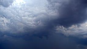在天空的乌云 影视素材