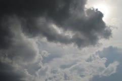 在天空的云彩 库存图片