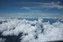 在天空的云彩 图库摄影