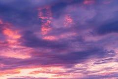 在天空的令人惊讶的cloudscape, 库存图片