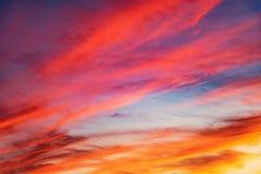 在天空的令人惊讶的cloudscape 库存图片