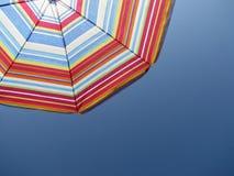 在天空的伞, 图库摄影