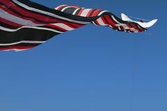 在天空的传统巴厘语风筝 图库摄影