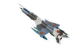 在天空的军事喷气机飞行 免版税图库摄影