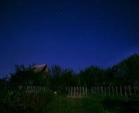 在天空的北斗七星 库存照片