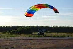 在天空的巨大的气球 库存图片