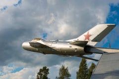 在天空的战斗机 库存照片