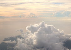 在天空的日出 库存图片