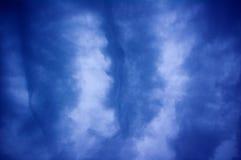 在天空的样式 免版税库存图片